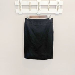 Express Simple Black Pencil Skirt Size 6
